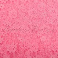 Floral Lace Bright Pink